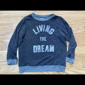 Sol Angeles Kids Sweatshirt Living The Dream sz 6